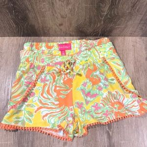 Lily Pullittzer for Target pompon shorts
